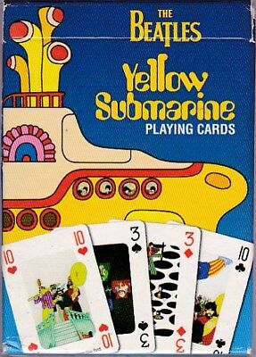 The Beatles Yellow Submarine Baraja De Cartas/playing Cards Ejemplar Unico!