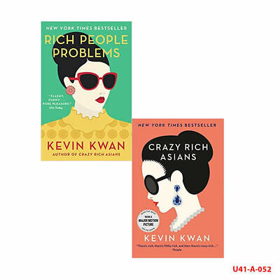 Kevin Kwan Collection Crazy Rich Asians Crazy Rich Asians 2 Books Set Brand NEW