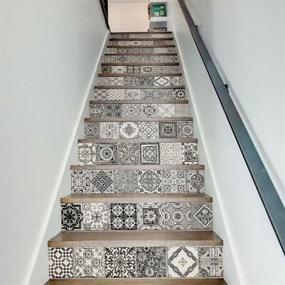 A11 18X100CM Plane The Steps The Stairs Water Repellent Wallpaper Home Decor O