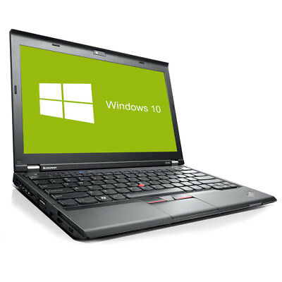 Lenovo ThinkPad X230 Notebook Intel Core i5 2x 2,6GHz 4GB RAM 320GB HDD Win10