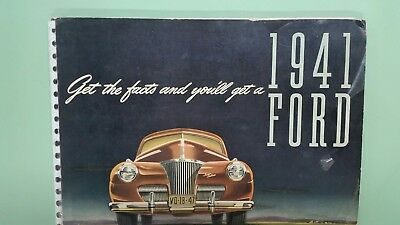 1941 Ford car and truck dealer album data book