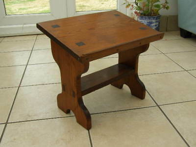 Small Antique Oak Lectern Bible Book Prayer Stand Architectural Church Pulpit