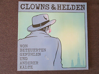 LP Vinyl Schallplatte CLOWNS & HELDEN,TELDEC 1986,Deutsch Pop