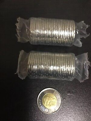UNC 2018 2 Dollar Canadian Toonie Uncirculated From Mint Roll *Sealed In Holder*