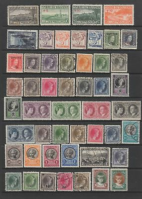 Luxembourg 1923- 1935 collection 91 stamps MH or fine used