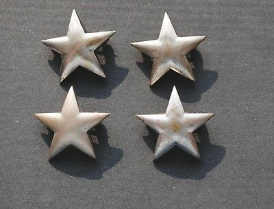 Group of Four WWII Period Sterling USMC General's Stars