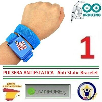 Pulsera Antiestatica Correa Cordless Wireless Adjustable Anti Static Bracel CA37