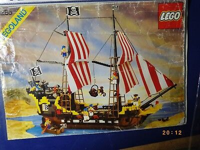 Lego Pirates Black Seas Barracuda 6285 Pirate Ship Massive Captain