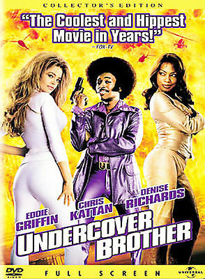 Undercover Brother (Full Screen Collector's Edition) DVD, Eddie Griffin, Denise