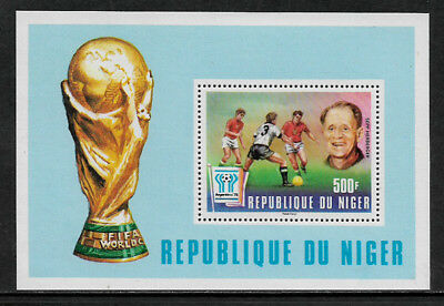Niger #417 Mint Never Hinged S/Sheet - World Cup Soccer