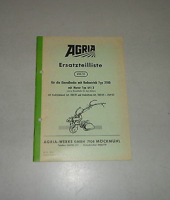 1964 Parts Catalog/spare Parts List Köla Selbstladewagen Ea 30 Industrial