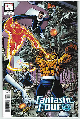 Fantastic Four #1 1:500 Perez Remastered Color Variant 2018 Free Shipping! NM-