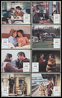 OTLEY orig 1969 lobby card set ROMY SCHNEIDER/TOM COURTENAY 11x14 movie posters