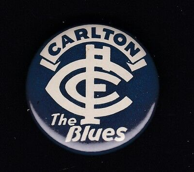 Carlton  Football Club badge, 1960's issue