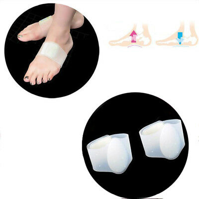 1Pair Flat Feet Plantar Fasciitis Arch Cushion Support Gel Therapy Foot Sleeve