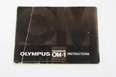 Olympus OM-1 Camera Users Instruction Guide Owners Manual ENGLISH