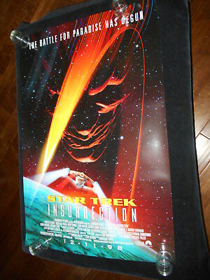 Star Trek Insurrection Original  Rolled One Sheet  Poster Sci Fi