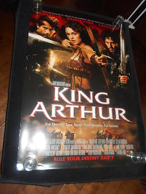 King Arthur Keira Knightley   Original Rolled One Sheet Poster DS