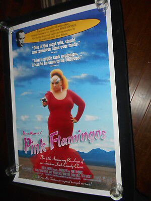 Pink Flamingos John Waters 25th Anniv. Rolled Original One Sheet Poster