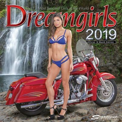 2019 Dreamgirls Wall Calendar, Swimsuit Models by Starwest, Inc.