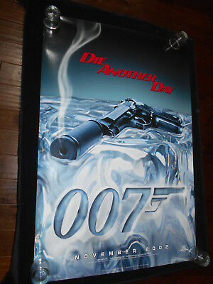 Die Another Day  Original Rolled teaser One Sheet Poster     James Bond