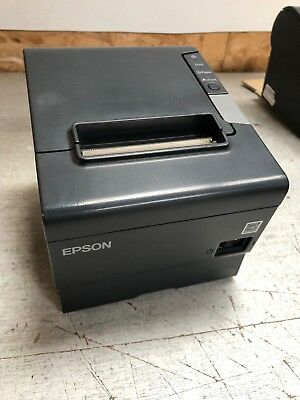 Epson TM-T88V Monochrome Thermal Receipt Printer - USB & Serial RS232