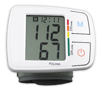 Andon Digital Wrist  Blood Pressure Monitor Automatic switch off LCD display