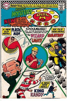 HOUSE OF MYSTERY #160, 1ST S.A. APP PLASTIC MAN, DC Comics (1964)