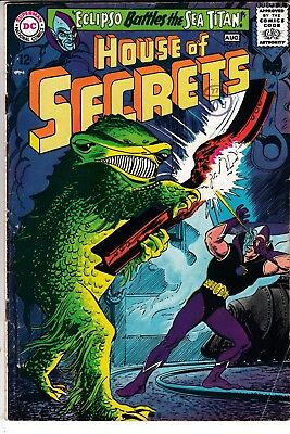 HOUSE OF SECRETS #73, 1ST APP PRINCE RA-MAN, DC Comics (1965)