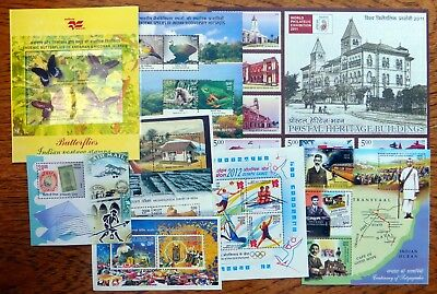 INDIA 2007/12 M/Sheet Collection As Described NJ933