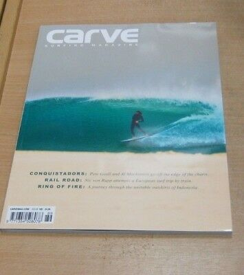 Carve surfing magazine #189 SEP 2018 Nic Von Rupp, Pool Party, Conor Maguire &