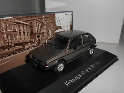 Volkswagen Golf 1 Caribe Gt 1984 Autos Memorables Mexico Deagostini Ixo 1:43