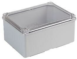 IP65 ABS Enclosure with Transparent Lid - 150x110x75mm -  GR17208 A4IK#