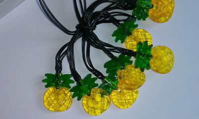 Pineapple Fairy Garden 10 LED Lights Battery Power 2-AA Party DIY Project