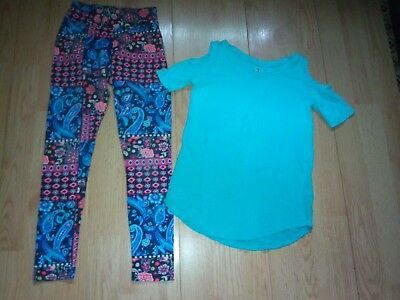 Justice 2 Piece Girls Outfit Size Small 6-7
