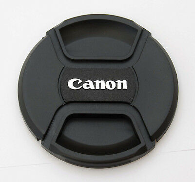 77mm Center Pinch Front Lens Cap for Canon EOS Rebel EF-S 10-22mm 70-200mm IS II