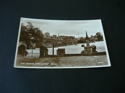 The Square, Beauly, from Priory, Real Photographic postcard