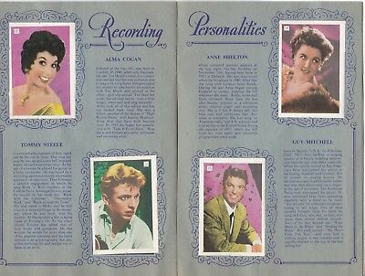 """1950's """"girls' Crystal"""" All-Star Picture Album"""