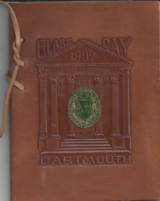 Class Day Exercises,dartmouth College,class Of 1907, June 24,1907