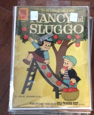 DELL COMICS~NANCY and SLUGGO#184 !!!