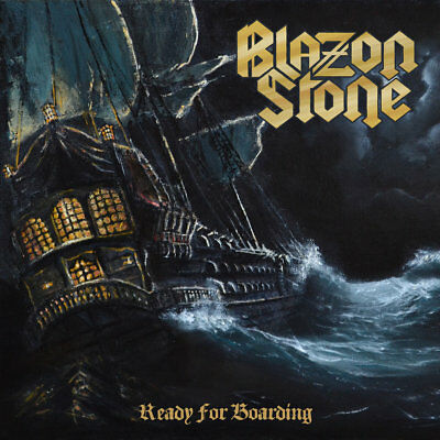 Blazon Stone - Ready For Boarding Sweden Premier Power Metal Official Stormspell