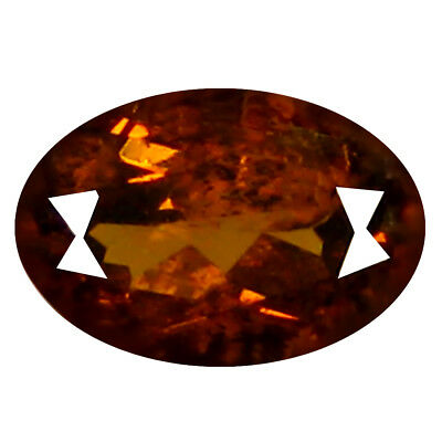 0.53 ct  Spectacular Oval Shape (6 x 4 mm) Brownish Green Mali Garnet Gemstone