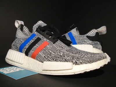 separation shoes 00ac9 a5fcd ADIDAS NMD R1 Pk Primeknit Tri Color White Black Red Blue Oreo Bb2888 Boost  9.5