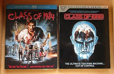 Class of 1999 & Class of 1984 Blu Ray NEW Sealed w/ Slipcover