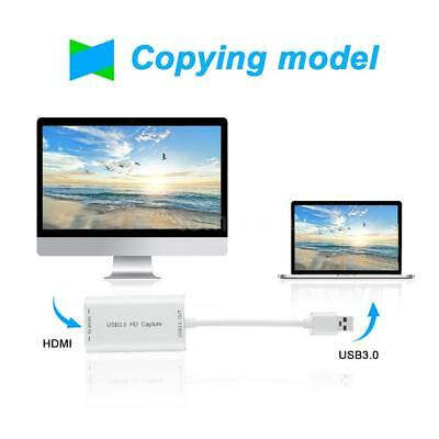 HD to USB 3.0 Adapter Converter HD Video Cable Capture Device for Computer M3K5