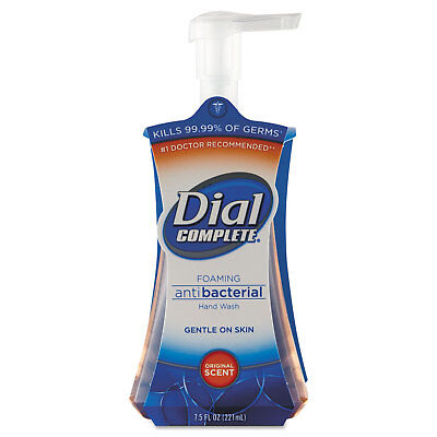 Dial Professional Antimicrobial Foaming Hand Soap, Liquid, Fresh Scent, 7.5oz