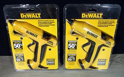 DeWALT Rapid Heat Ceramic Glue Guns (2 PACK!!) -DWHTGR50-