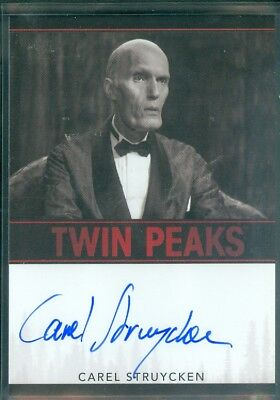 Twin Peaks Carel Struychen as The Fireman Limited Event Series Autograph Card