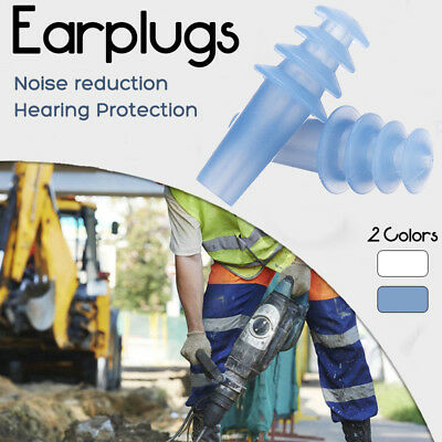 Soft Silicone Ear Plugs Noise Reduction Earplugs For Noise Ear Hear Protection
