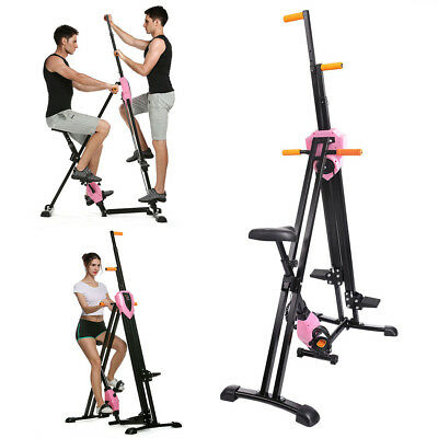 Climber Vertical Stepper Exercise Fitness Folding Maxi Climber Stair Machine